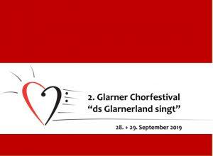 Ds Glarnerland singt @ St. Fridolinskirche, Glarus